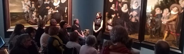 Mindful ART visit with Marjan Abadie at the Royal Museum of Brussels -Frans Hals