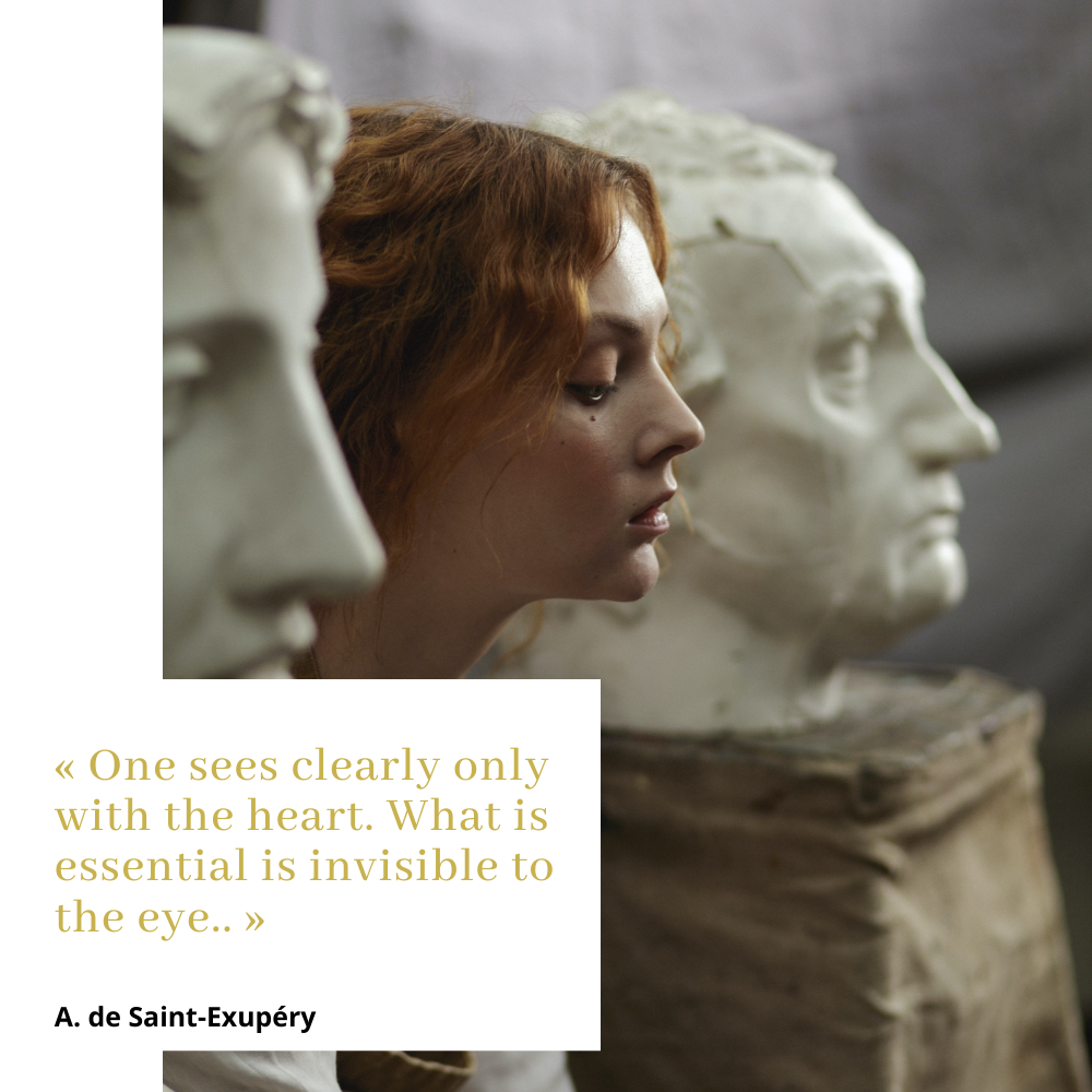 One sees clearly only with the heart. What is essential is invisible to the eye.  St Exupery